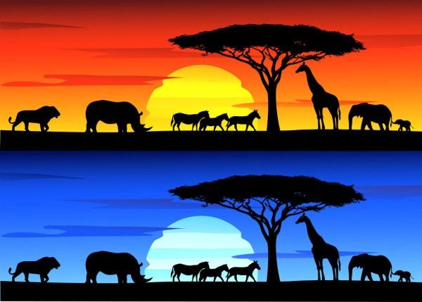 Рисунок для детей африка (7)