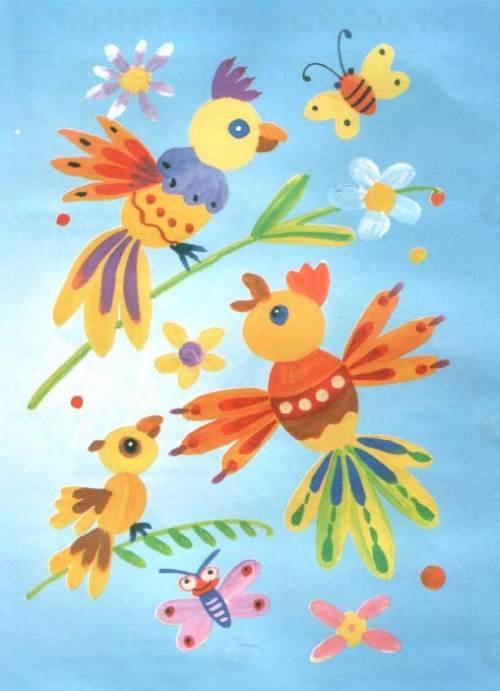 Рисунок для детей африка (8)