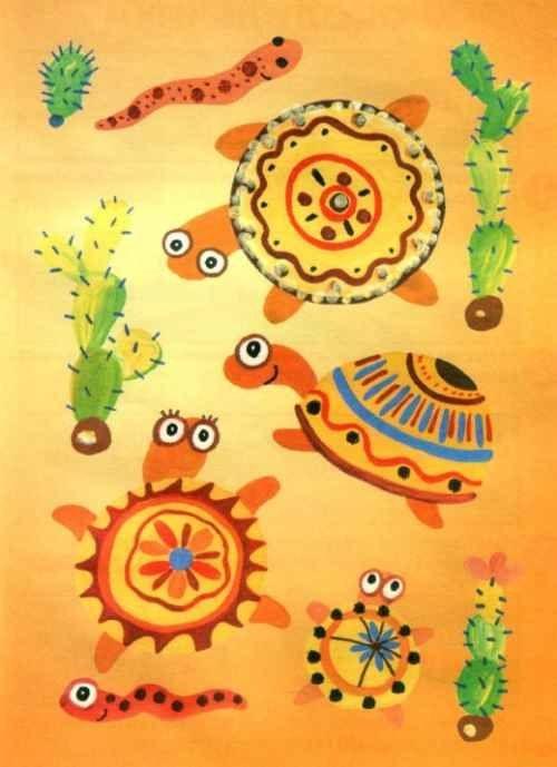 Рисунок для детей африка (9)