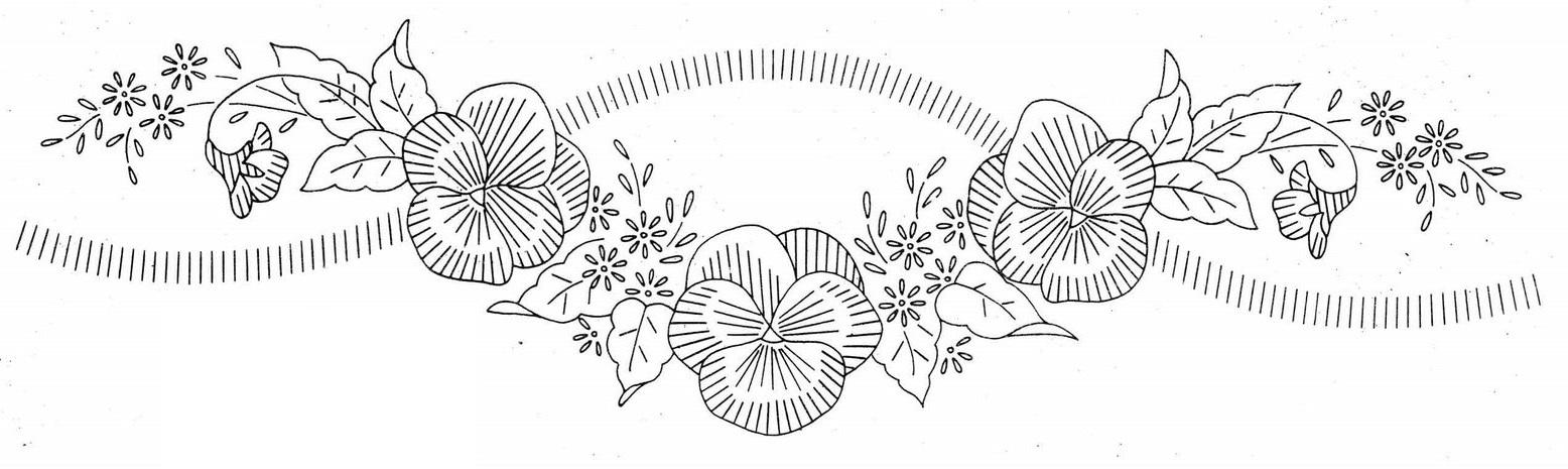 Рисунок птичка для вышивки (19)