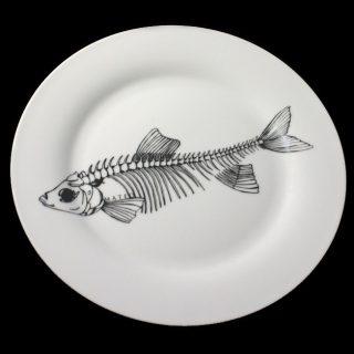 Рисунок рыба на тарелке (5)