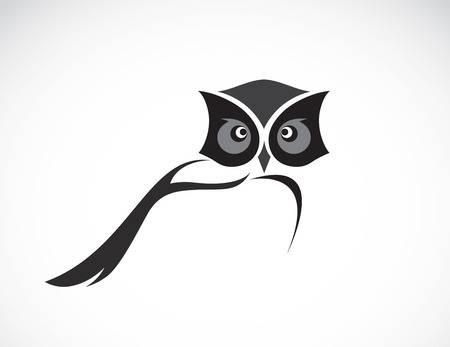 Рисунок совы в графике (6)