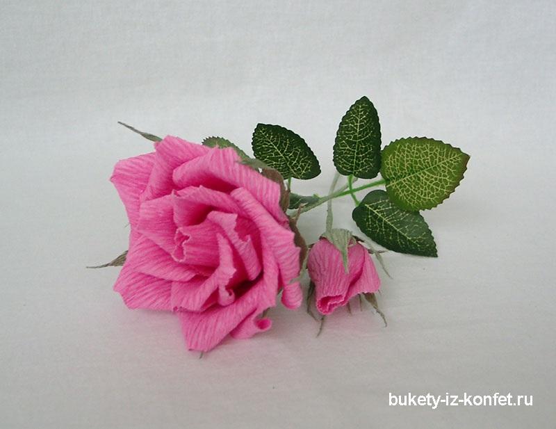 Розы из папиросной бумаги (1)