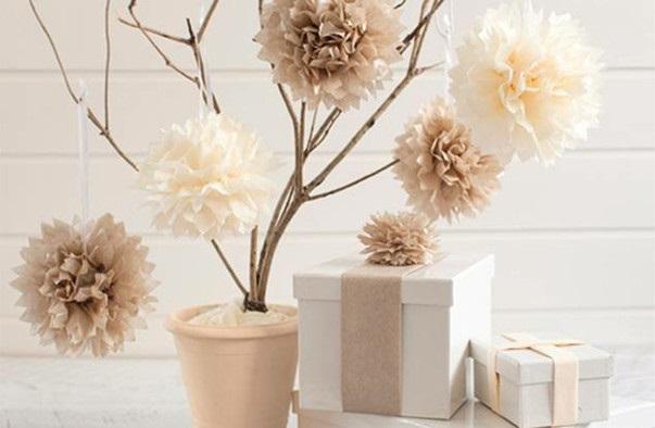 Розы из папиросной бумаги (11)
