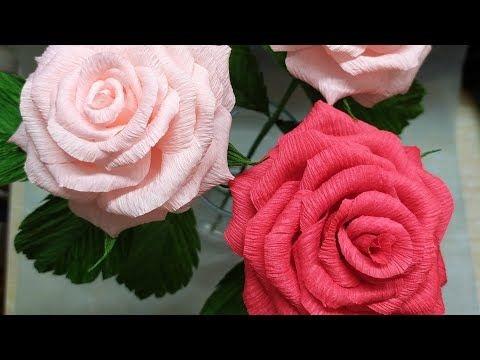 Розы из папиросной бумаги (13)