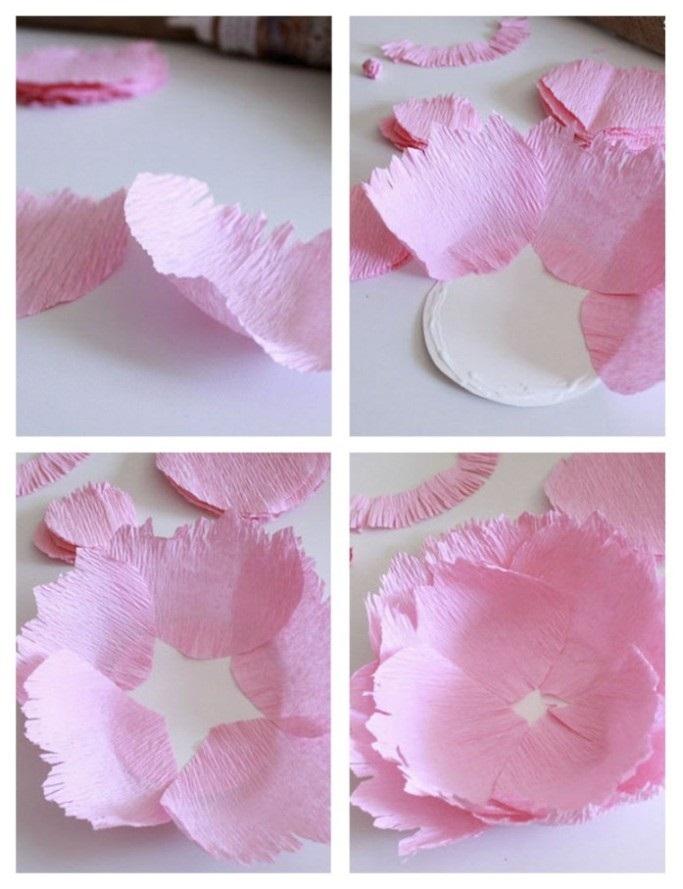 Розы из папиросной бумаги (18)