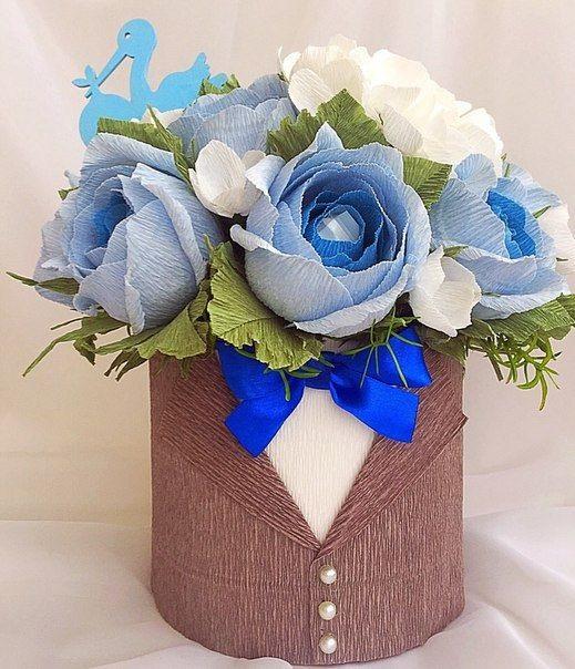 Розы из папиросной бумаги (19)