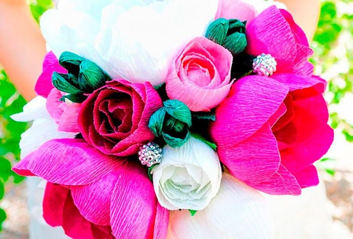 Розы из папиросной бумаги (21)