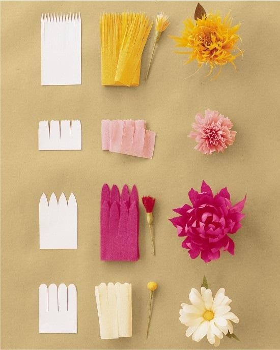 Розы из папиросной бумаги (26)