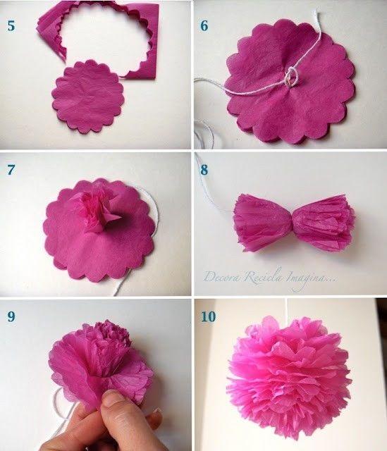 Розы из папиросной бумаги (3)