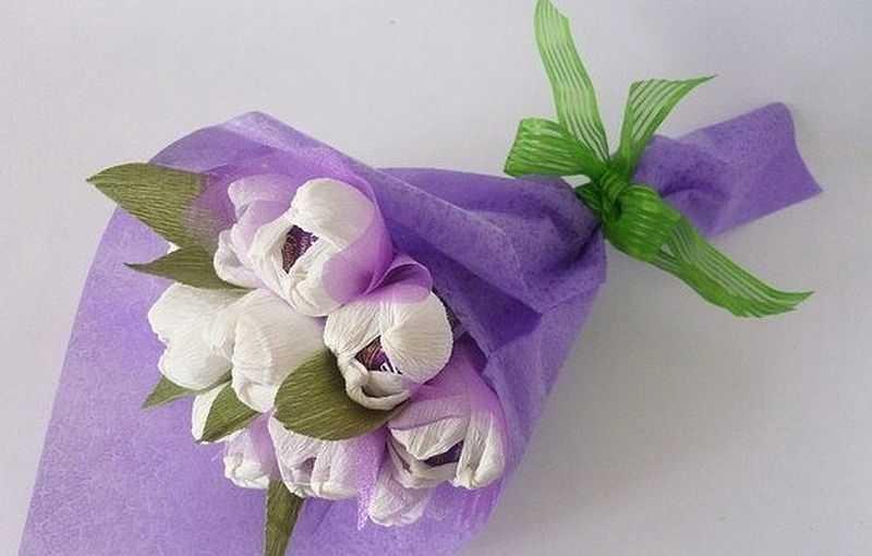 Розы из папиросной бумаги (8)