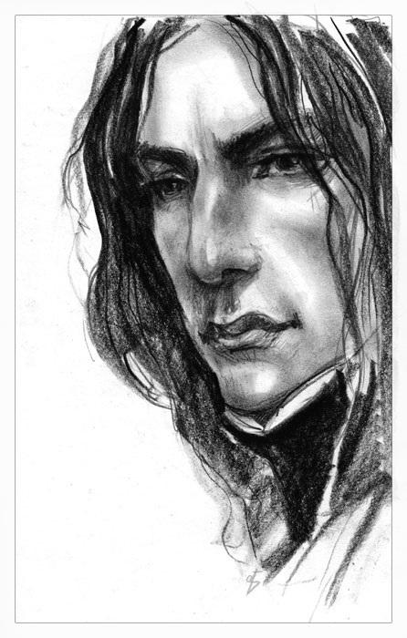Северус Снейп рисунки подборка (24)