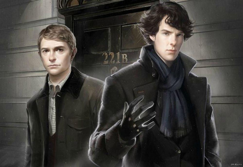 Сериал Шерлок арты (1)