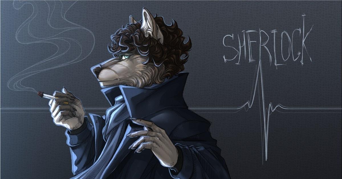Сериал Шерлок арты (21)