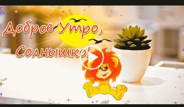 Скачать открытку доброе утро солнышко (6)