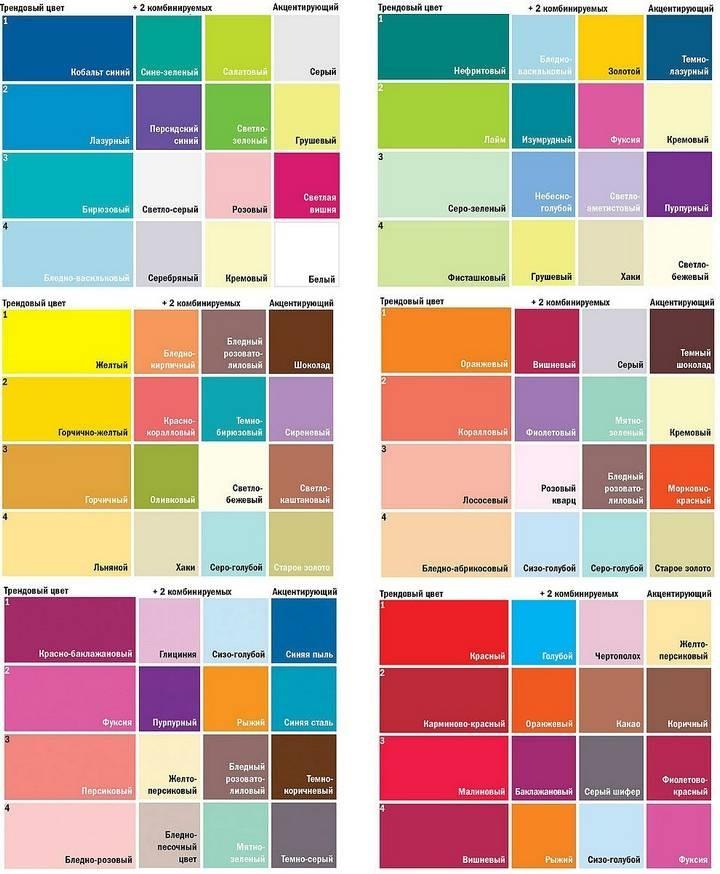 Сочетание цветов картинки (20)