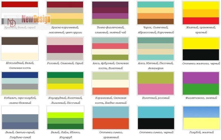 Сочетание цветов картинки (25)
