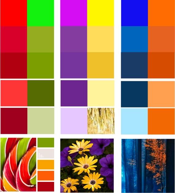 Сочетание цветов картинки (4)