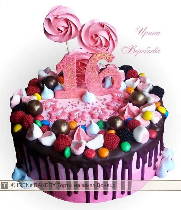 Торты для подростков девочек фото (2)