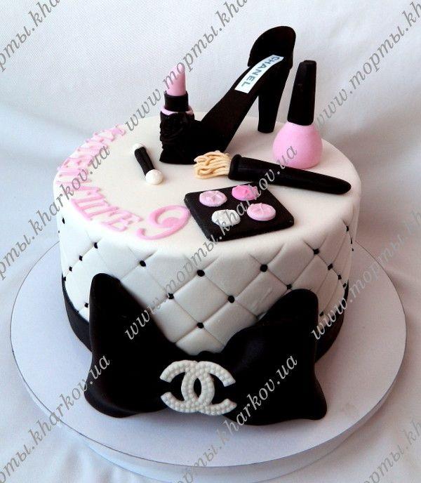 Торты для подростков девочек фото (5)