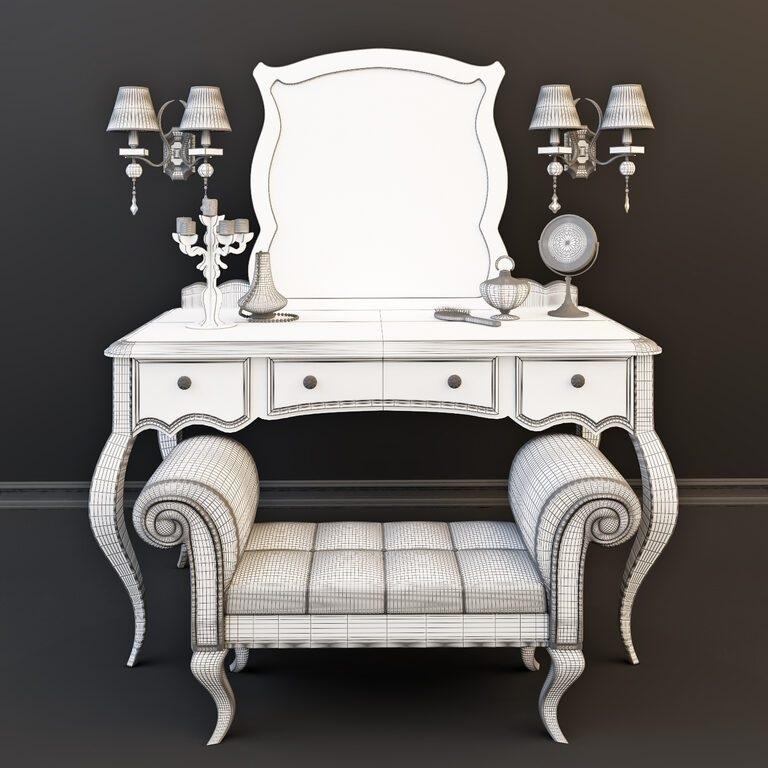 Туалетный столик декор фото (21)