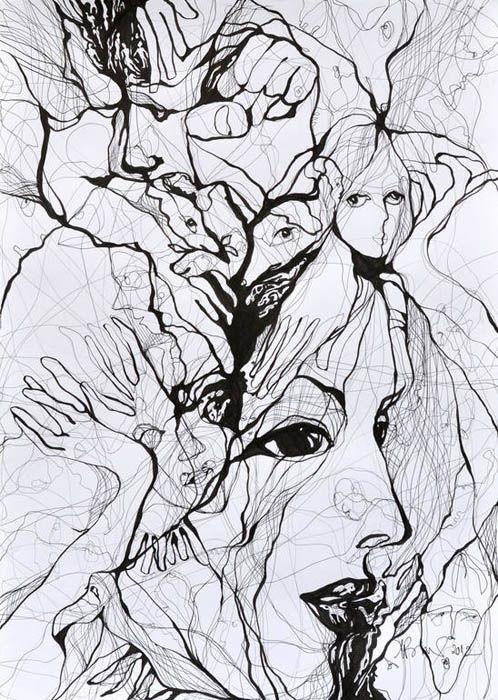 Тушь рисунок графика (21)