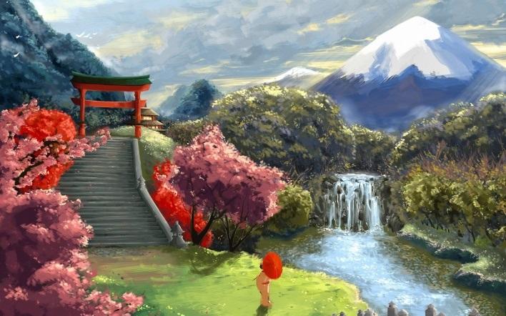 Фотографии природы Япония (21)