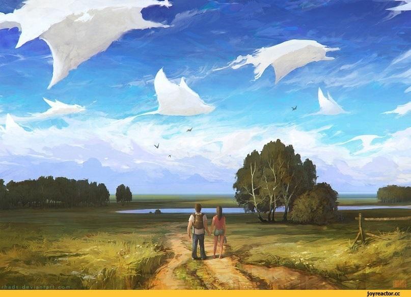 Фотографии природы красивые облака (1)