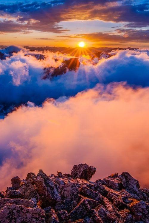 Фотографии природы красивые облака (4)