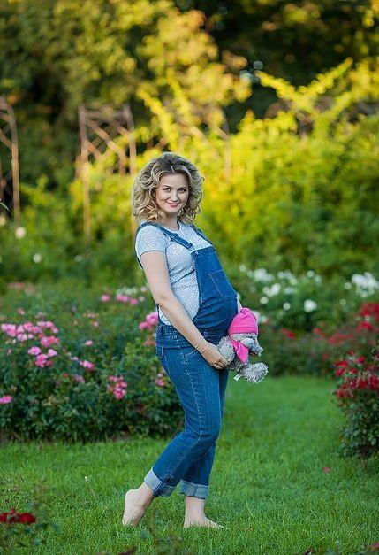 Фотосессия беременности на природе (10)