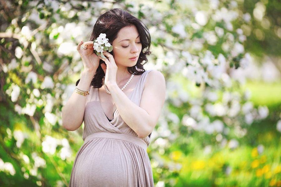 Фотосессия беременности на природе (4)