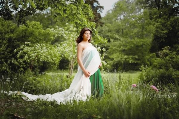 Фотосессия беременности на природе (9)