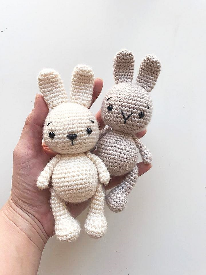 Фото как связать кролика крючком (20)