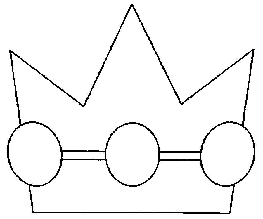 Фото макет короны из бумаги (11)