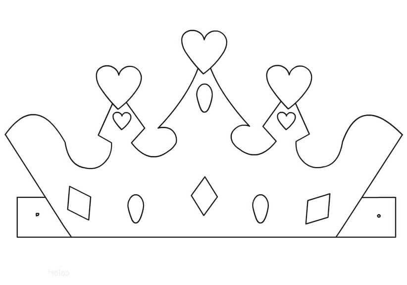 Фото макет короны из бумаги (12)