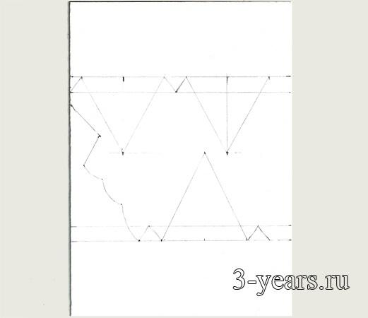 Фото макет короны из бумаги (14)