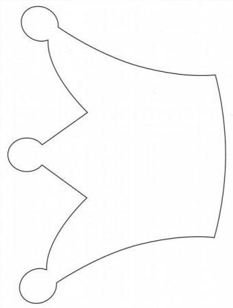 Фото макет короны из бумаги (19)
