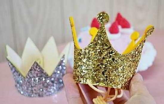 Фото макет короны из бумаги (20)