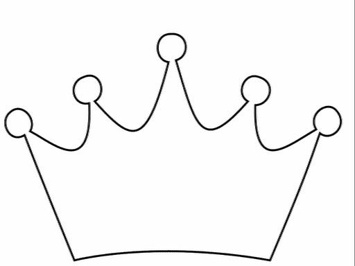Фото макет короны из бумаги (25)
