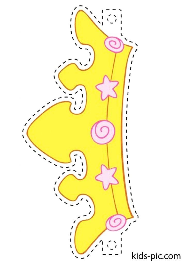 Фото макет короны из бумаги (28)