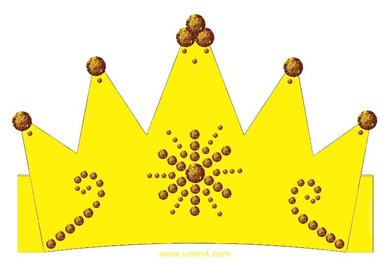 Фото макет короны из бумаги (8)