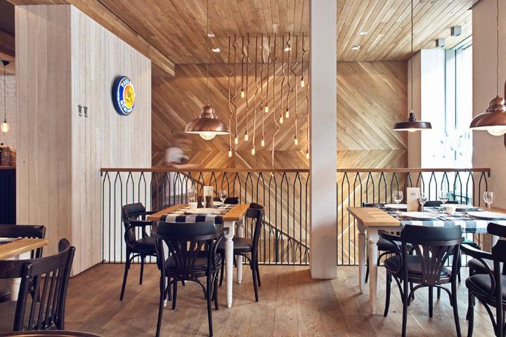 Фото ресторан в деревенском стиле (11)