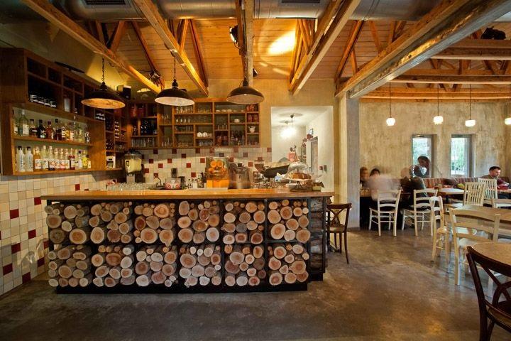 Фото ресторан в деревенском стиле (13)