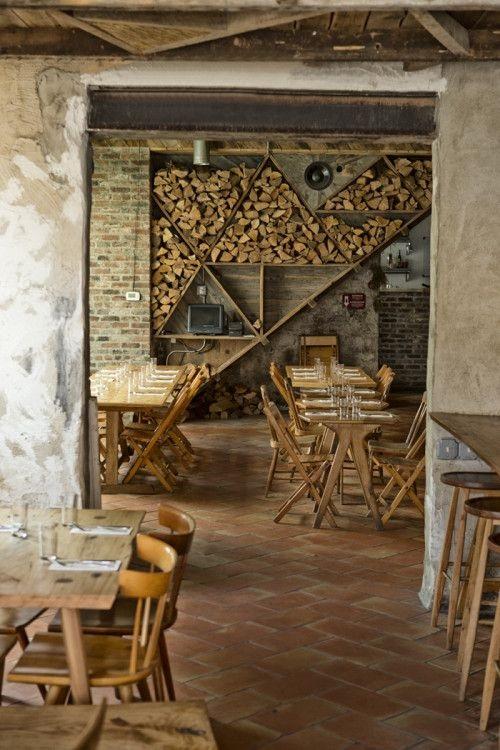 Фото ресторан в деревенском стиле (14)