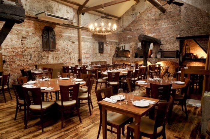 Фото ресторан в деревенском стиле (15)