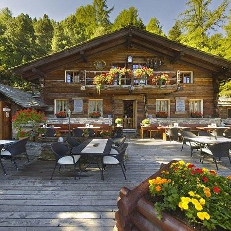 Фото ресторан в деревенском стиле (16)