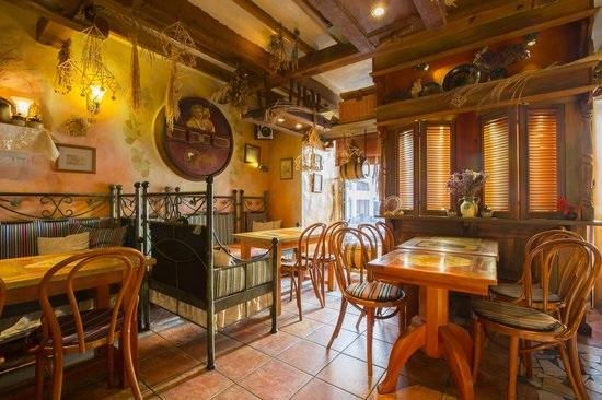 Фото ресторан в деревенском стиле (17)
