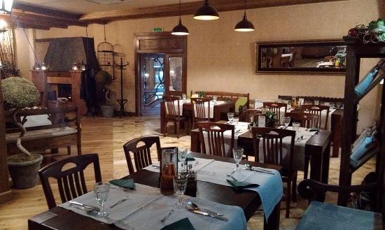 Фото ресторан в деревенском стиле (18)