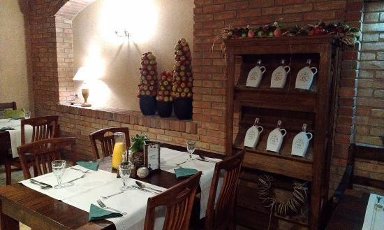 Фото ресторан в деревенском стиле (19)
