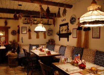 Фото ресторан в деревенском стиле (22)